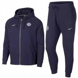 Survetement de presentation Casual hoodie Chelsea 2018/19 - Nike