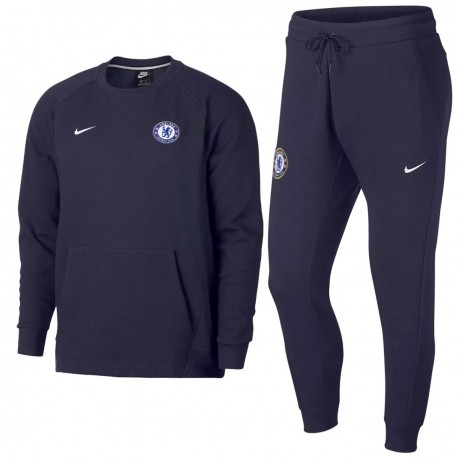 Acheter Casual Fc Sweat 201819 Survetement Chelsea Nike H9D2WEI