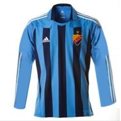 Maglia calcio Djurgardens Home 2010/12 Maniche Lunghe - Adidas