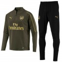 Arsenal FC green training technical tracksuit 2018/19 - Puma