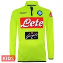 Kids - SSC Napoli fluo training technical tracksuit 2018/19 - Kappa