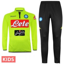 Jungen - SSC Napoli fluo Technical Trainingsanzug 2018/19 - Kappa