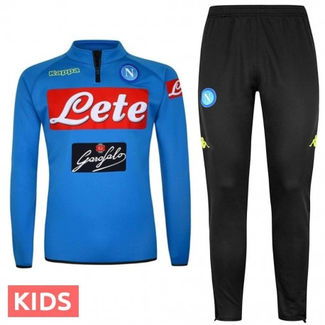Kids - SSC Napoli training technical tracksuit 2018/19 - Kappa