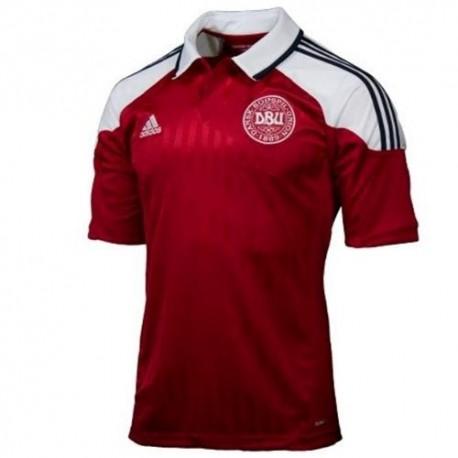 Dänemark National Trikot Home Adidas 2012/13-