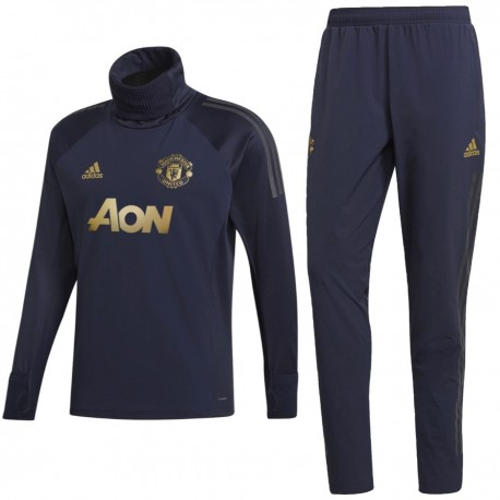 Manchester United UCL training Tech tracksuit 2018/19 - Adidas