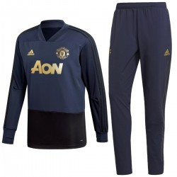 Chandal de entreno sweat Manchester United UCL 2018/19 - Adidas