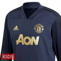 Kids - Manchester United UCL training sweat tracksuit 2018/19 - Adidas