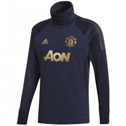 Sudadera tecnica entreno Manchester United UCL 2018/19 - Adidas