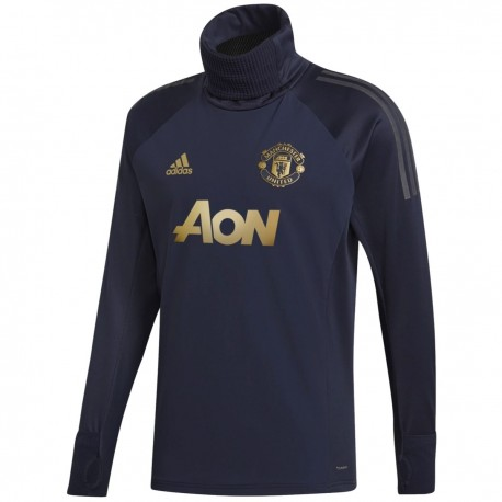 Manchester United UCL training technical sweat top 2018/19 - Adidas