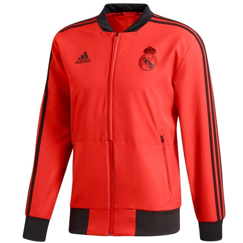 5b3341c89db56 ... Chandal de presentación Real Madrid UCL 2018 19 - Adidas ...