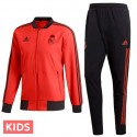 Kids - Real Madrid training presentation tracksuit 2018/19 - Adidas