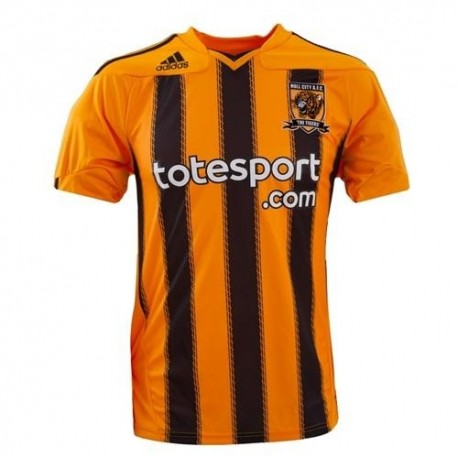Hull City Fußball Trikot Home Adidas 2010/11-