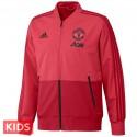 Kids - Manchester United presentation tracksuit 2018/19 - Adidas
