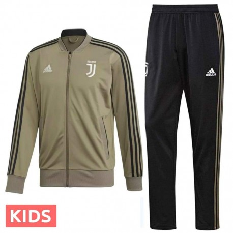 Kids - Juventus bench training tracksuit 2018/19 - Adidas