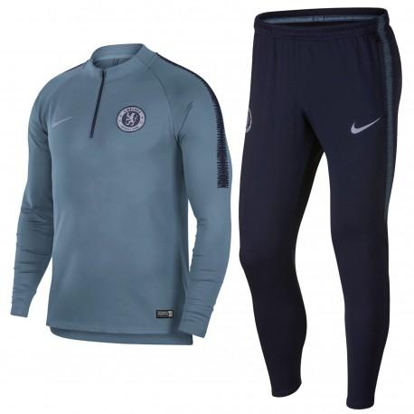 Chelsea FC Tech Fleece präsentations trainingsanzug 201819 Nike