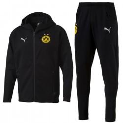 Borussia Dortmund casual presentation sweat tracksuit 2018/19 - Puma