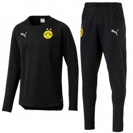 Borussia Dortmund casual jogging sweat tracksuit 2018/19 - Puma