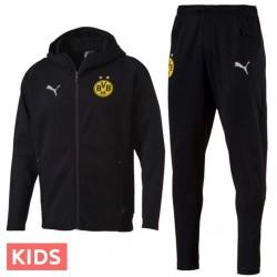Jungen - Borussia Dortmund Präsentation casual Trainingsanzug 2018/19 - Puma