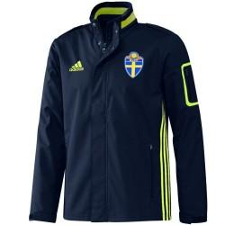 Giacca rappresentanza viaggio Nazionale Svezia 2016/17 - Adidas
