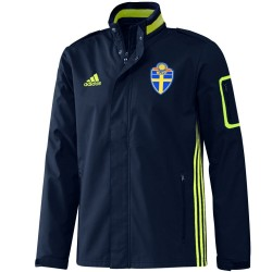 Sweden training presentation travel jacket 2016/17 - Adidas