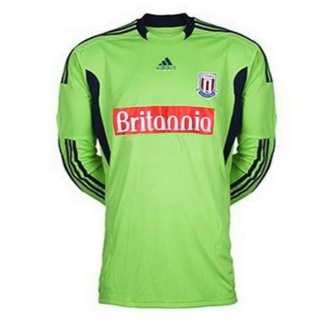 Stoke City goalkeeper Jersey Away 2011/2012-Adidas