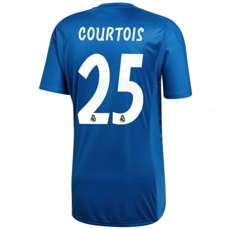Real Madrid Courtois 1 Away goalkeeper shirt 2018/19 - Adidas