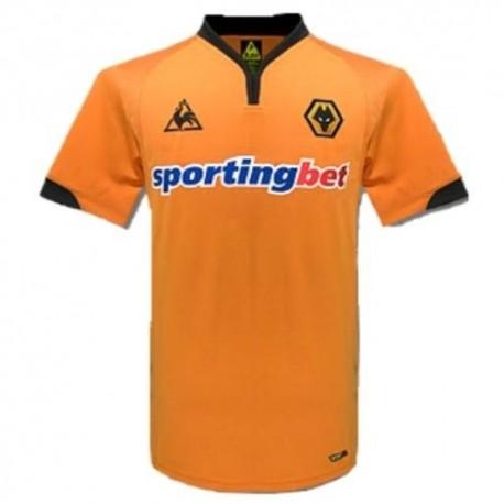 Wolverhampton Wanderers casa camiseta 2009/10-Le Coq Sportif