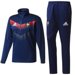 Chandal tecnico entreno seleccion Francia rugby 2017/18 - Adidas