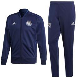 Survêtement d'entrainement Anderlecht 2018/19 bleu - Adidas