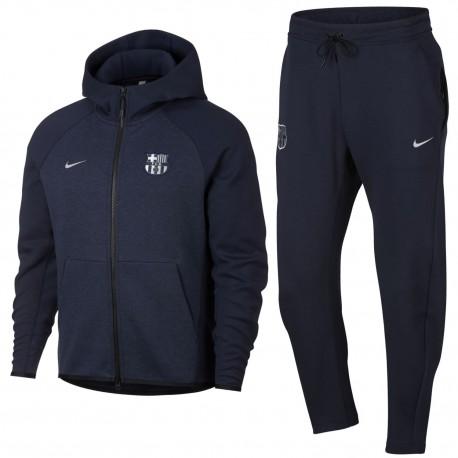 FC Barcelona Tech Fleece presentation tracksuit 2018/19 - Nike