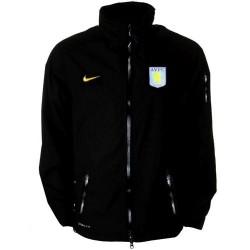 Anorak de Aston Villa FC entrenamiento carreras jugador tema Nike 11/12