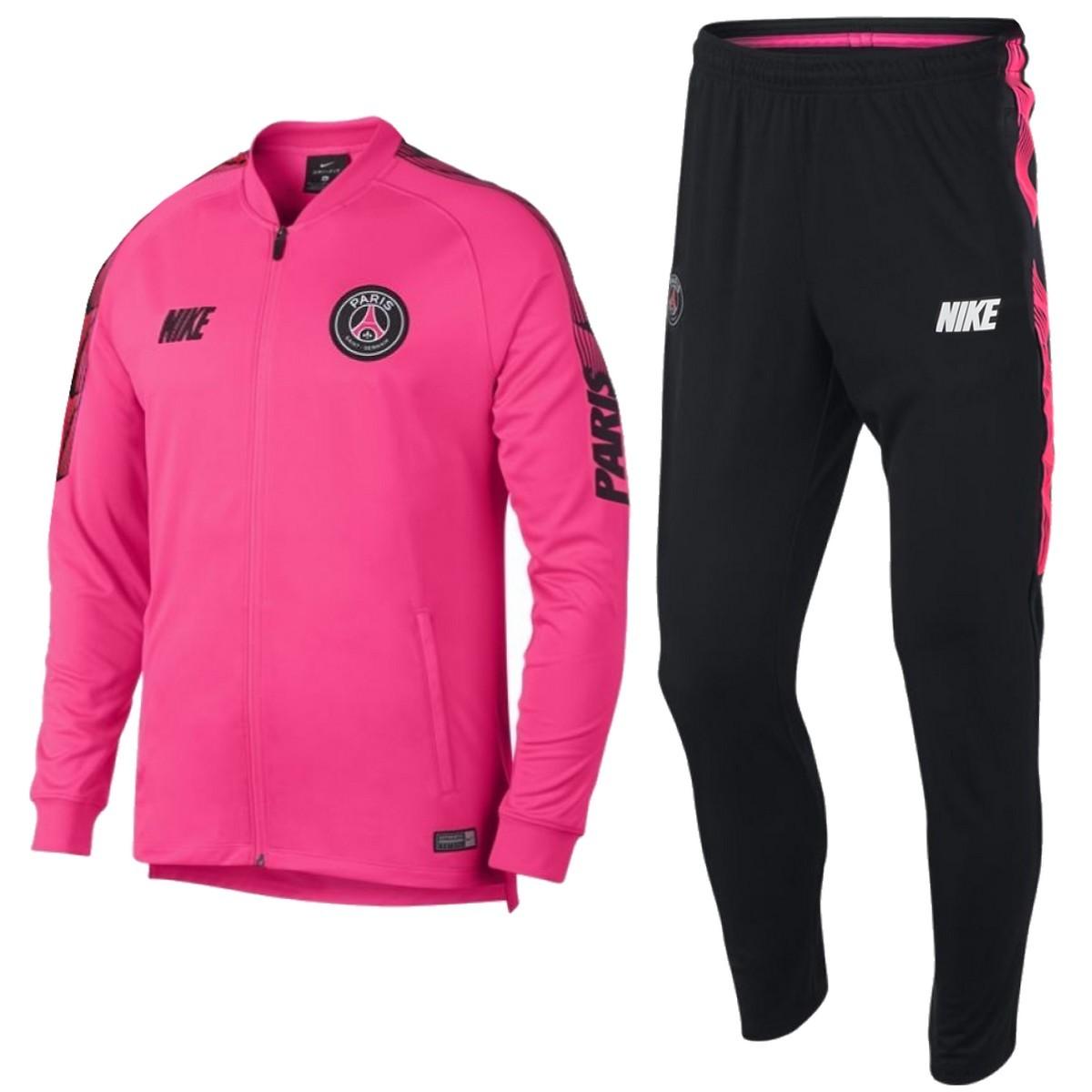 Tuta da rappresentanza rosa PSG Paris Saint Germain 2019 - Nike