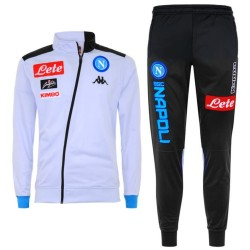 SSC Napoli white training presentation tracksuit 2018/19 - Kappa