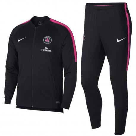 Tuta da rappresentanza nera PSG Paris Saint Germain 2018/19 - Nike