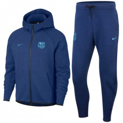 Survetement de presentation FC Barcelona Tech Fleece 2019 - Nike