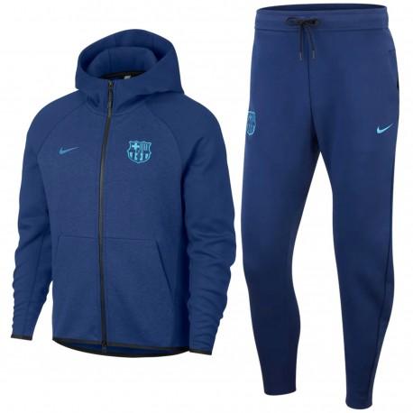 Tuta da rappresentanza FC Barcellona Tech Fleece 2019 - Nike
