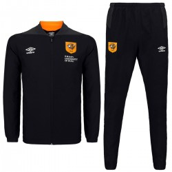 Hull City black training presentation tracksuit 2018/19 - Umbro