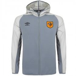 Hull City AFC hoodie trainingsjacke 2018/19 grau - Umbro