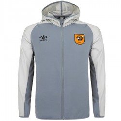 Hull City grey training squad jacket 2018/19 - Umbro