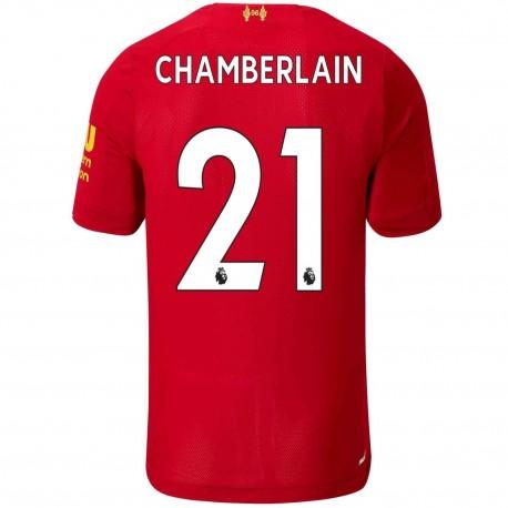 Camiseta de fútbol Liverpool FC Chamberlain 21 primera 2019/20 - New Balance