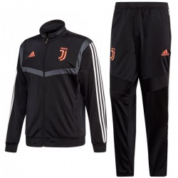 Juventus black training/presentation tracksuit 2019/20 - Adidas