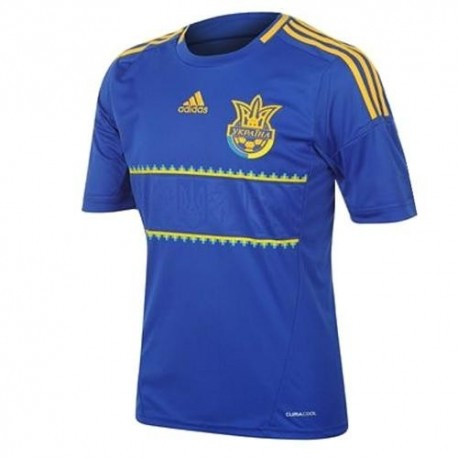 Camiseta de fútbol nacional de Ucrania lejos 12/13 por Adidas