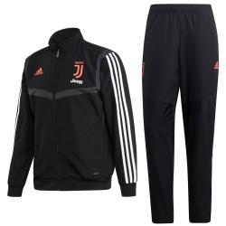 Juventus training präsentationsanzug 2019/20 schwarz - Adidas