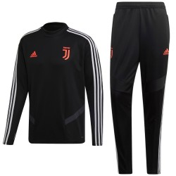 Juventus black training technical tracksuit 2019/20 - Adidas