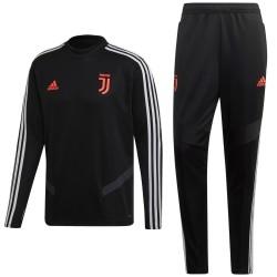 Survetement Tech d'entrainement Juventus 2019/20 noir - Adidas