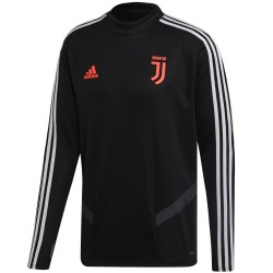 Sudadera tecnica negra de entreno Juventus 2019/20 - Adidas