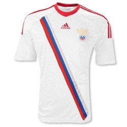 Russia national team Soccer Jersey Away 12/13 by Adidas