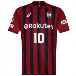 Vissel Kobe primera camiseta futbol 2017/18 Podolski 10 - Asics