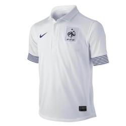 Nueva camiseta de fútbol de Francia nacional lejos Nike 2012/13