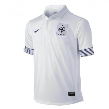 Neue nationale France Fußball Trikot Away 2012/13-Nike